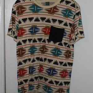 Patterned Pocket Shirt